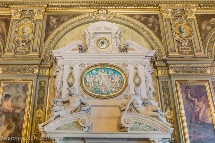 Paris Hotel de Ville wall decoration