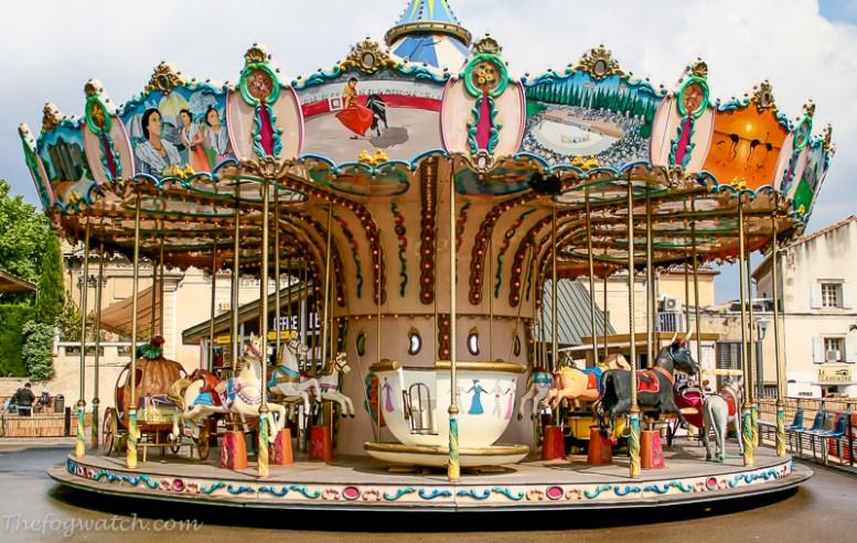 Carousel - Arles, France