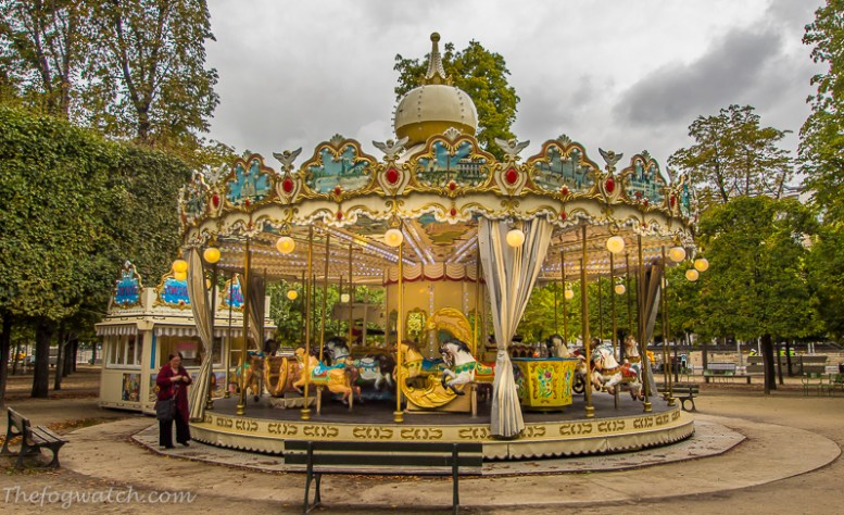 Carousel, Tuilleries, Paris