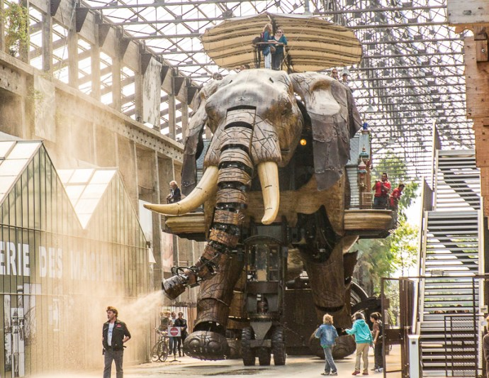 Les Machines - Mechanical elephant, Nante
