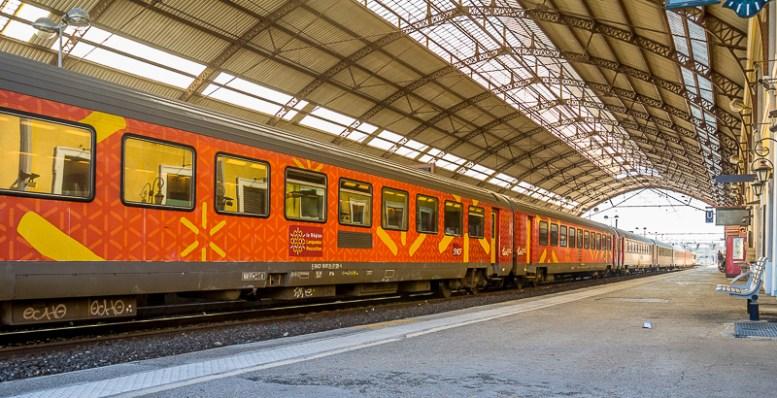 RER French regional train