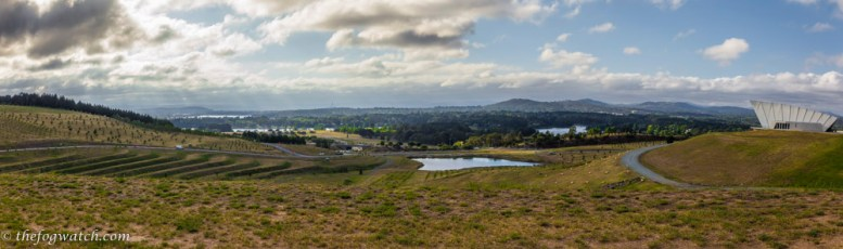 Canberra from the Arboretum