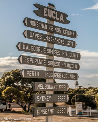 Eucla signpost