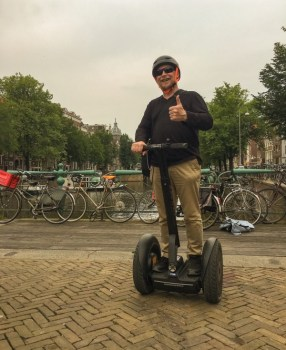 Amsterdam Segway tour – the other 2 wheels