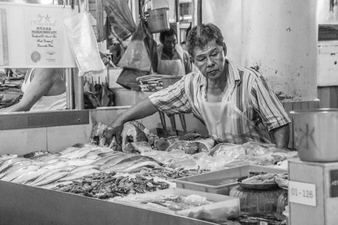 Market stall Singapore