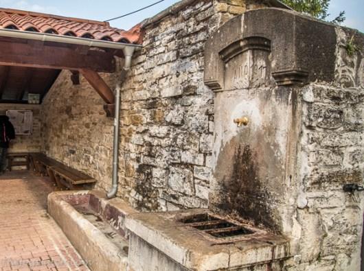 Esteribar water fountain