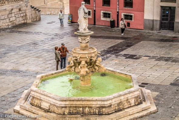 Santa maria fountain