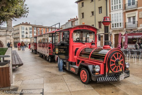 Tourist train, Burgos