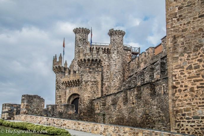 Ponferrada templar castle