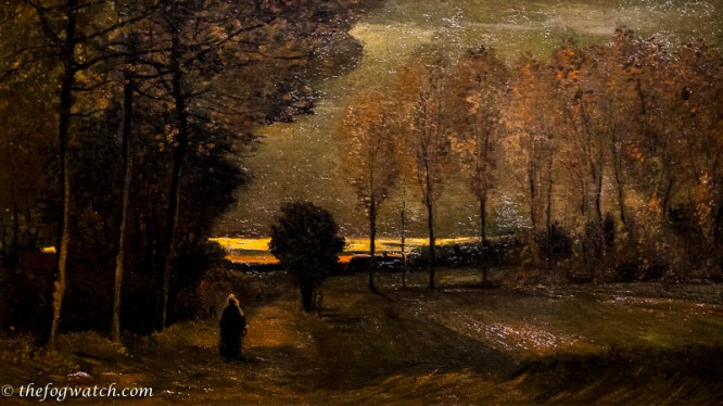 Autumn Landscape at Dusk