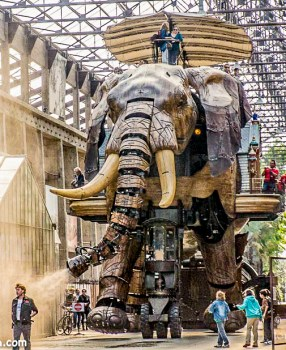 France: Les Machines de L'Isle in Nantes