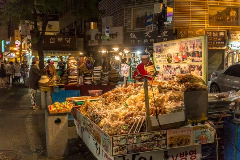 Seoul – street food vendors