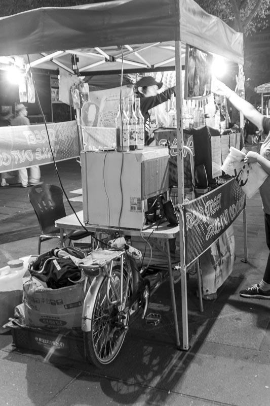 food vendor, Seoul