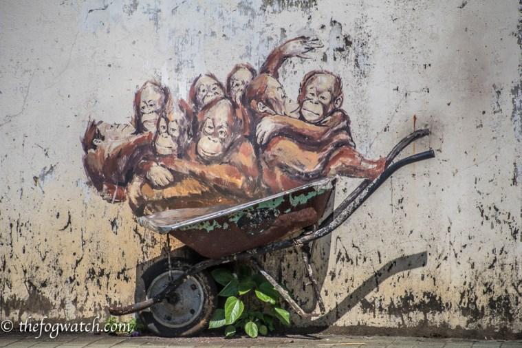 wall mural, Kuching