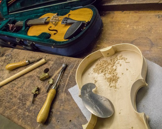 violin shaping