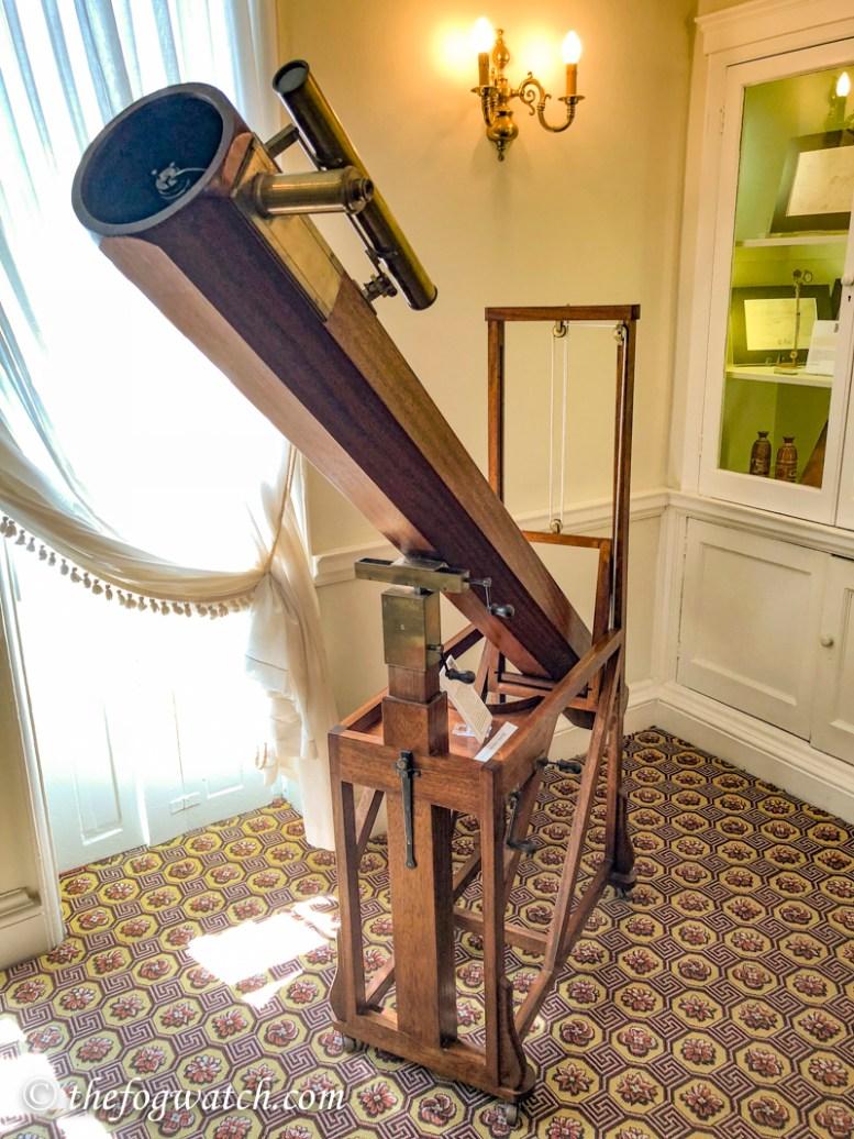 Herschel's 7 foot telescope