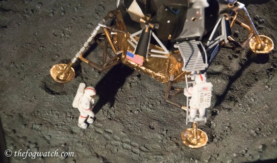 Model of the lunar lander