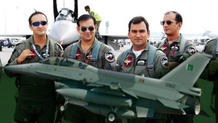 Join Pakistan air force as a fighter pilot