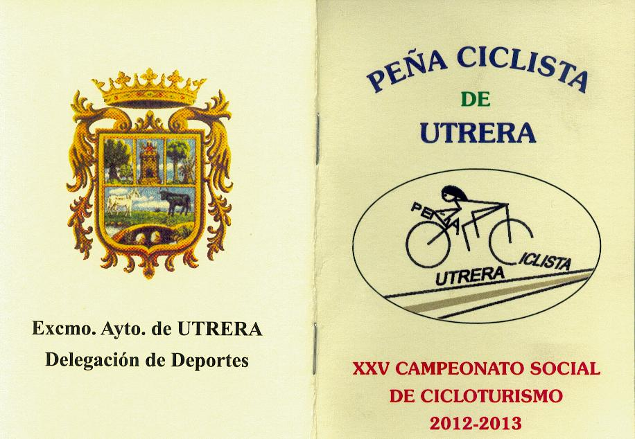 Calendario Salidas Peña Ciclista de Utrera (1/6)