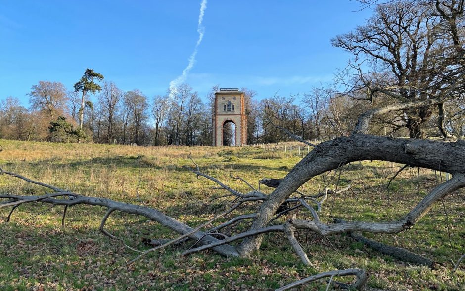 Bellmount Tower, Belton House, Grantham, Lincolnshire