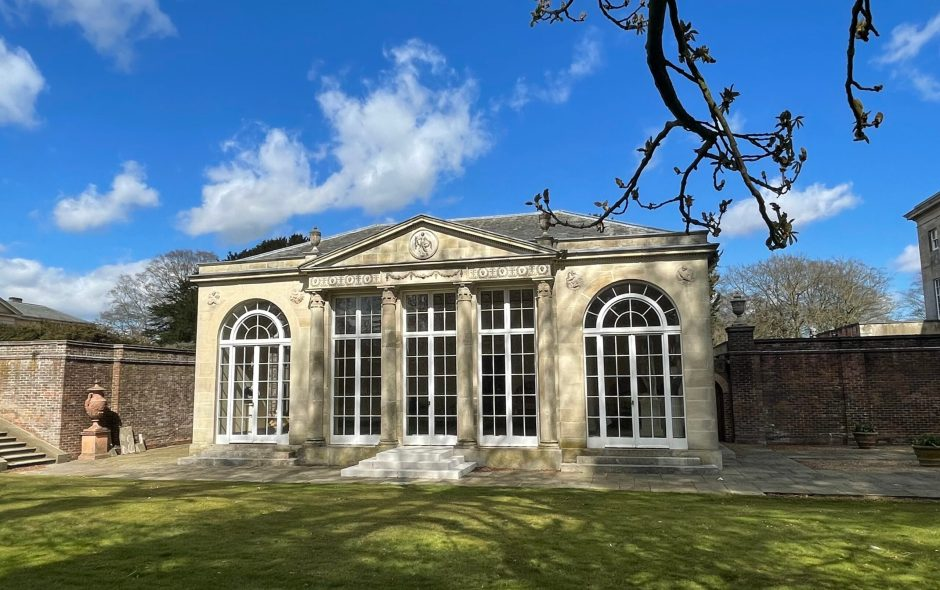 One Orangery, Two Gardens: Fairford, Gloucestershire and Sledmere, East Yorkshire
