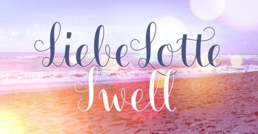 Liebe Lotte Swell [1 Font]