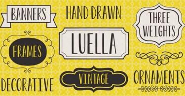 Luella [9 Fonts]