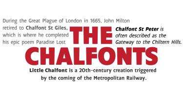 Chalfont [7 Fonts]