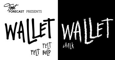 Wallet [3 Fonts]