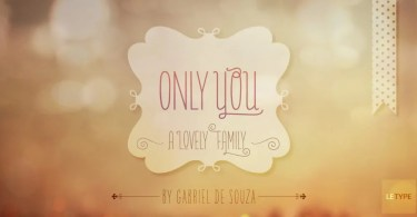 Only You Pro [10 Fonts]
