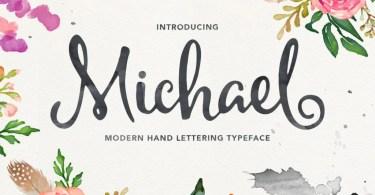 Michael Script [2 Fonts]