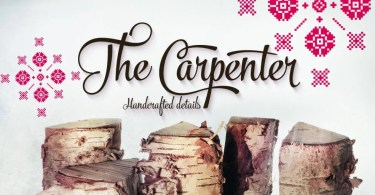 The Carpenter [6 Fonts]