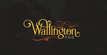 The Wallington Pro [2 Fonts]