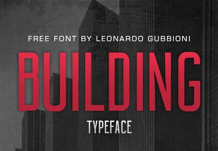 Building Typeface