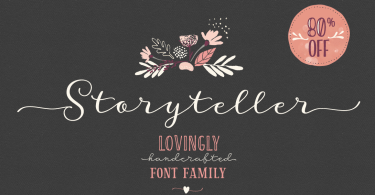 Storyteller Super Family [19 Fonts]