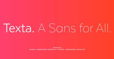 Texta Super Family [32 Fonts]