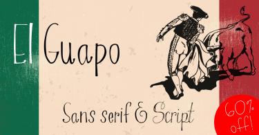 El Guapo [4 Fonts]