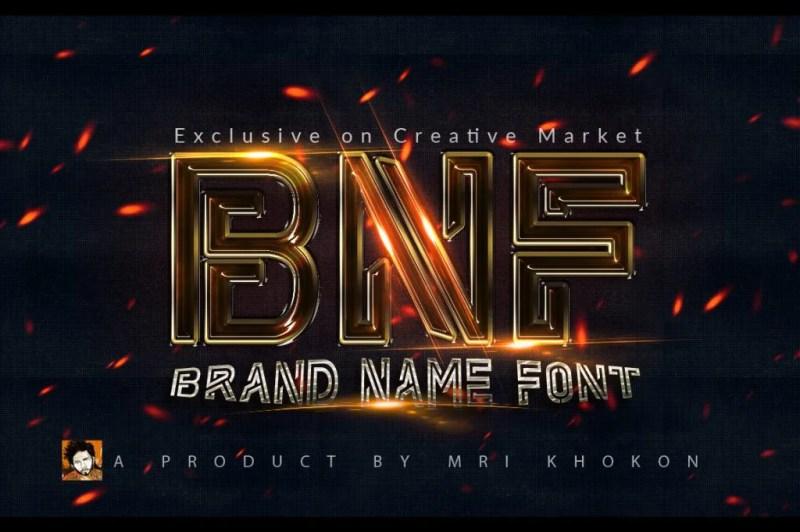 Brand-Name-Fon-1-O [Thefontsmaster.com]