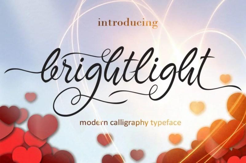Brighlight-1-O [Thefontsmaster.com]