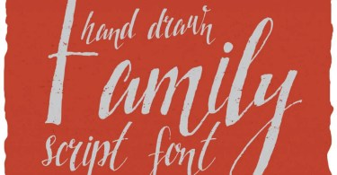 Family Hand Drawn Font [1 Font]
