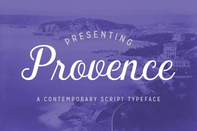 Provence [1 Font] | The Fonts Master
