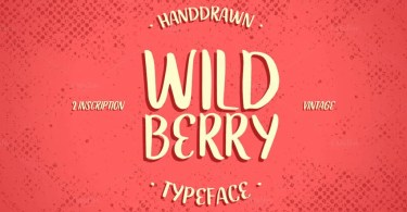 Wildberry [2 Fonts]