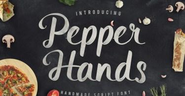 Pepper Hands Script [1 Font]