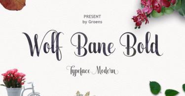 Wolf Bane Bold [1 Font]
