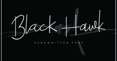 Black Hawk [3 Fonts + Extras]