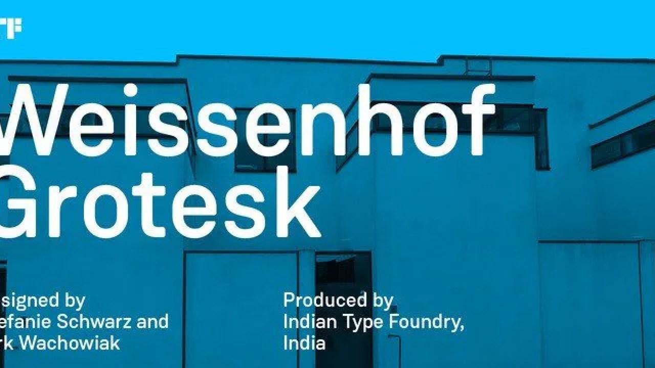 Weissenhof Grotesk [8 Fonts]   The Fonts Master
