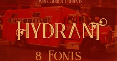 Hydrant [8 Fonts]