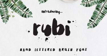 Rubi [2 Fonts]