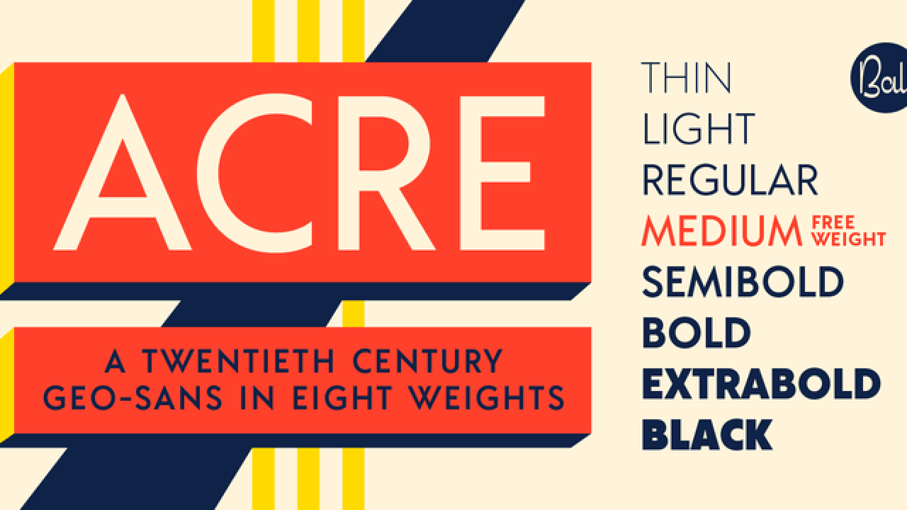 Acre [8 Fonts] | The Fonts Master