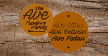 Ave [6 Fonts]